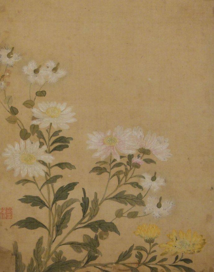 清代中期绘画作品欣赏
