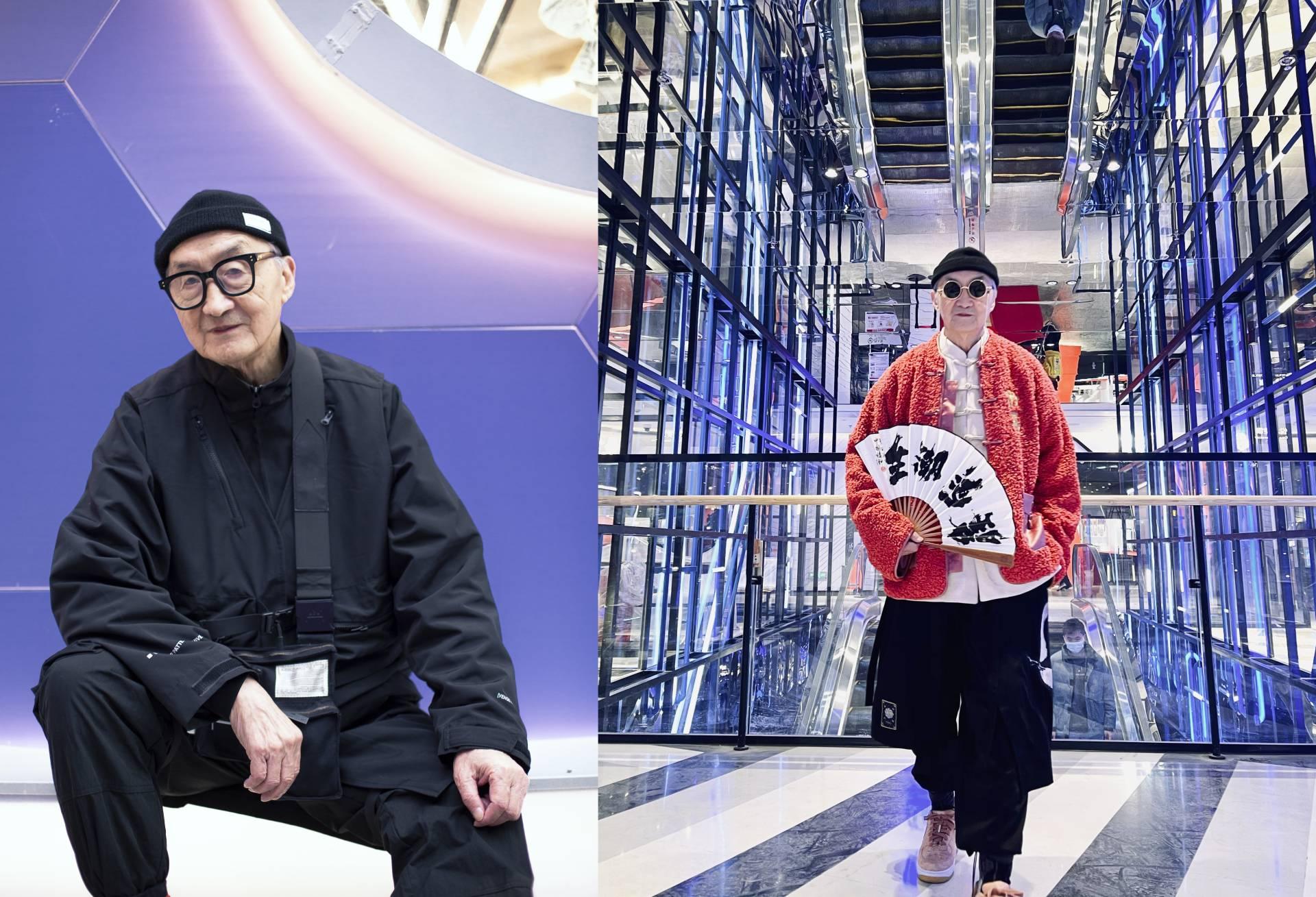 康康和爷爷时尚穿搭,抖音200万粉丝人气追捧