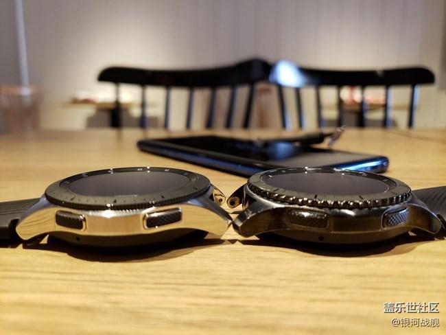 Galaxy Watch体验,对比Gear S3
