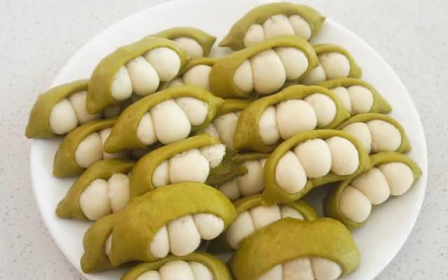 豌豆荚小馒头做法步骤图 蒸一锅根本不够吃!