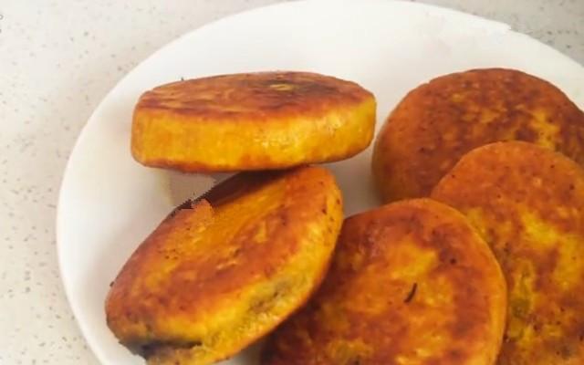 南瓜豆沙饼的新做法步骤图 学会在家轻松做!
