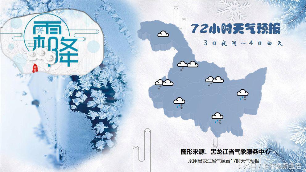 温差20℃多度,黑龙江大部迎飘雪+降温,多地或现短时重污染