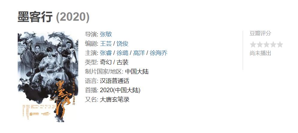张睿、徐璐、徐海乔主演玄幻剧,积压4年,万千网友呼吁快点播出