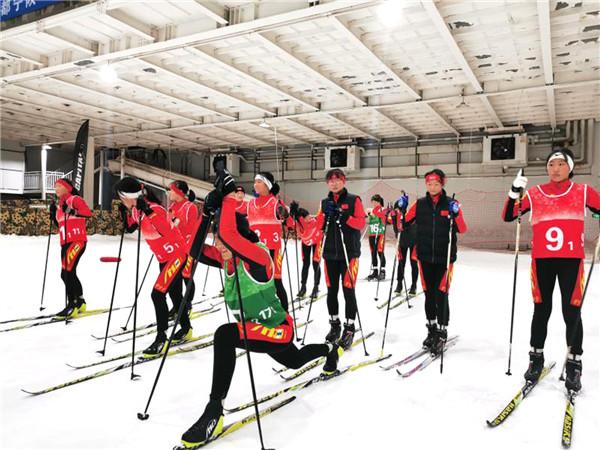 2020年陕西省滑雪公开赛在宁陕成功举办