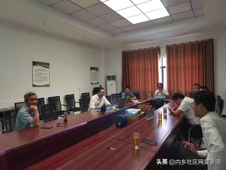 河南牧原物流招商团队一行到伏牛山生物科技公司参观洽谈合作