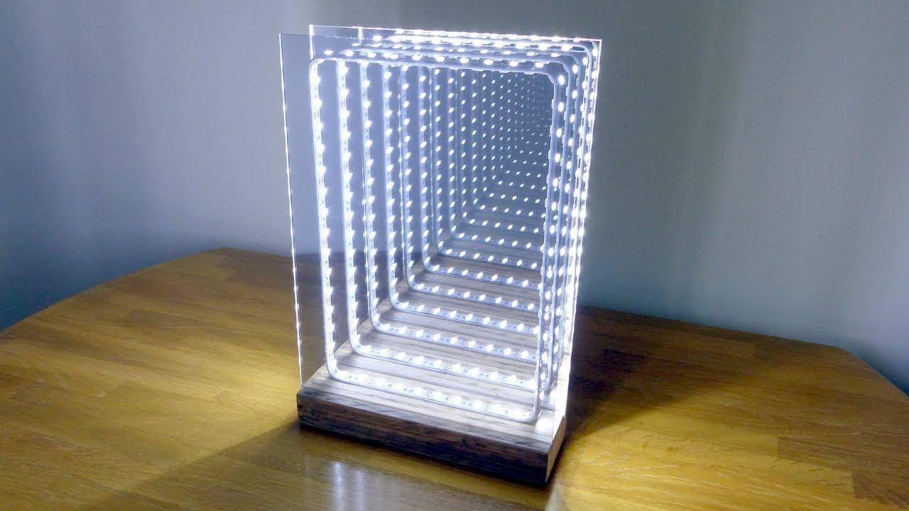你能用无限光线的反射镜把光传送到宇宙的边缘吗?