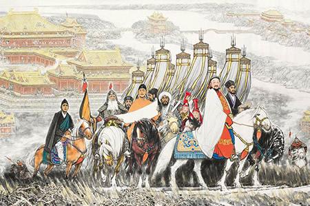 忽必烈最初只是一个普通王爷,为何最终能脱颖而出建立元朝
