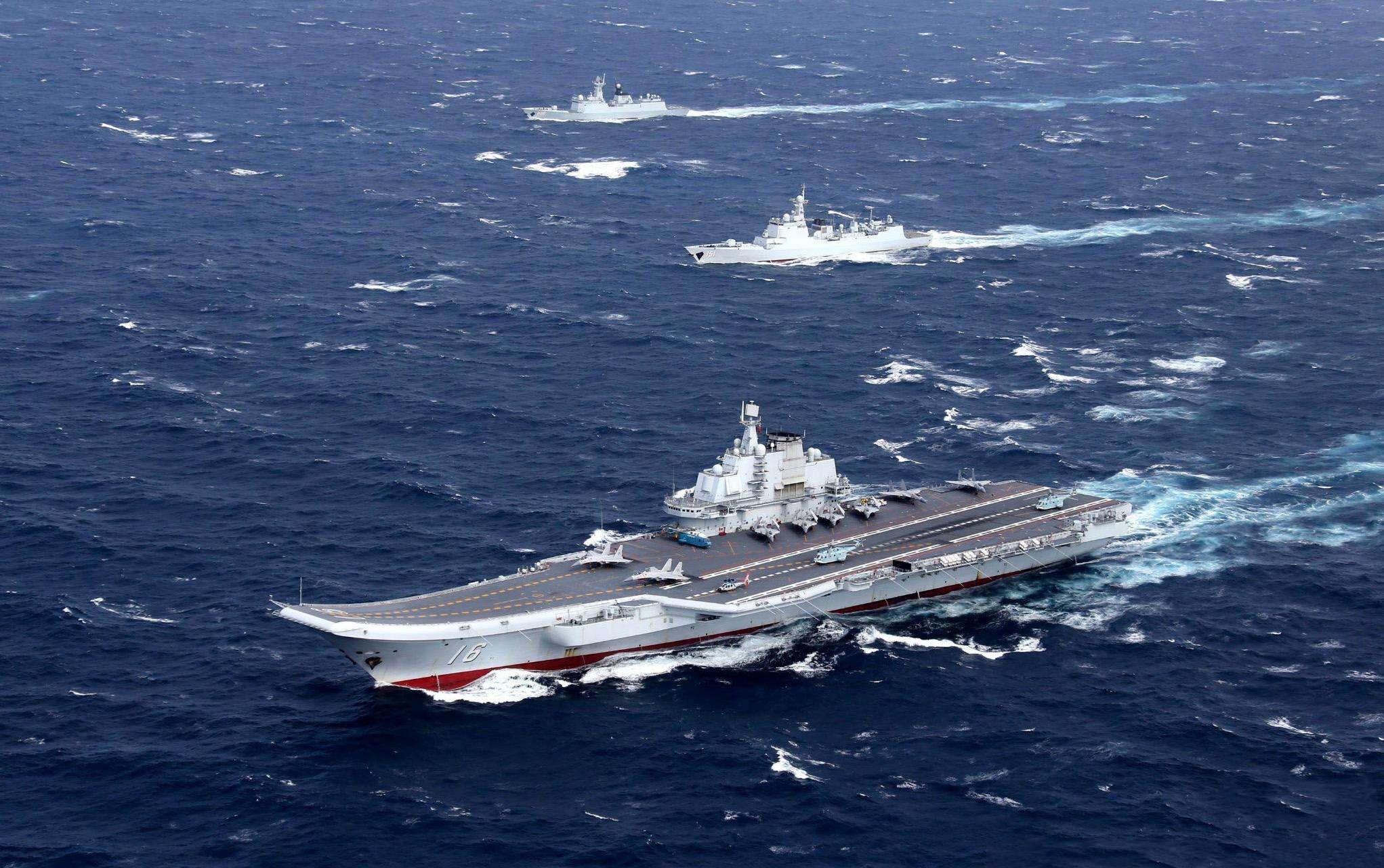 美舰悍然闯入南海,主权岂容挑衅!12月22日,南部战区火速行动