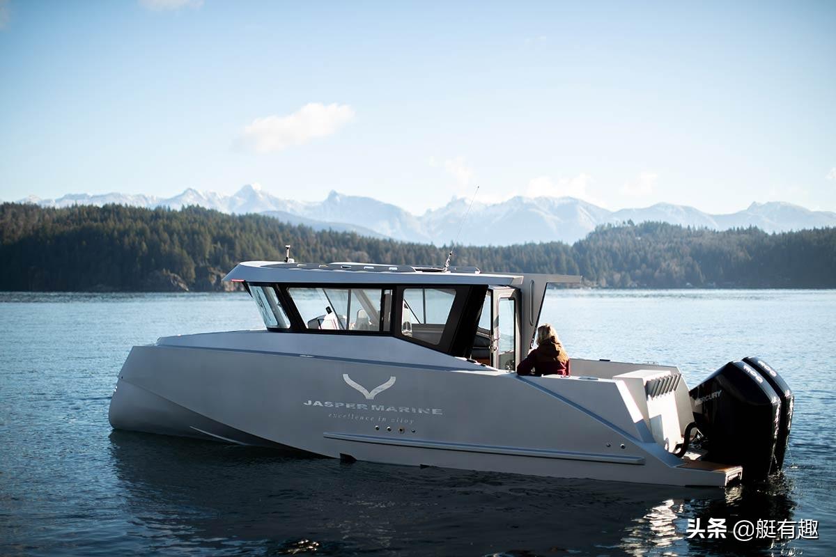 26岁创立了铝合金船厂JASPER MARINE,年轻CEO打造的游艇获得关注