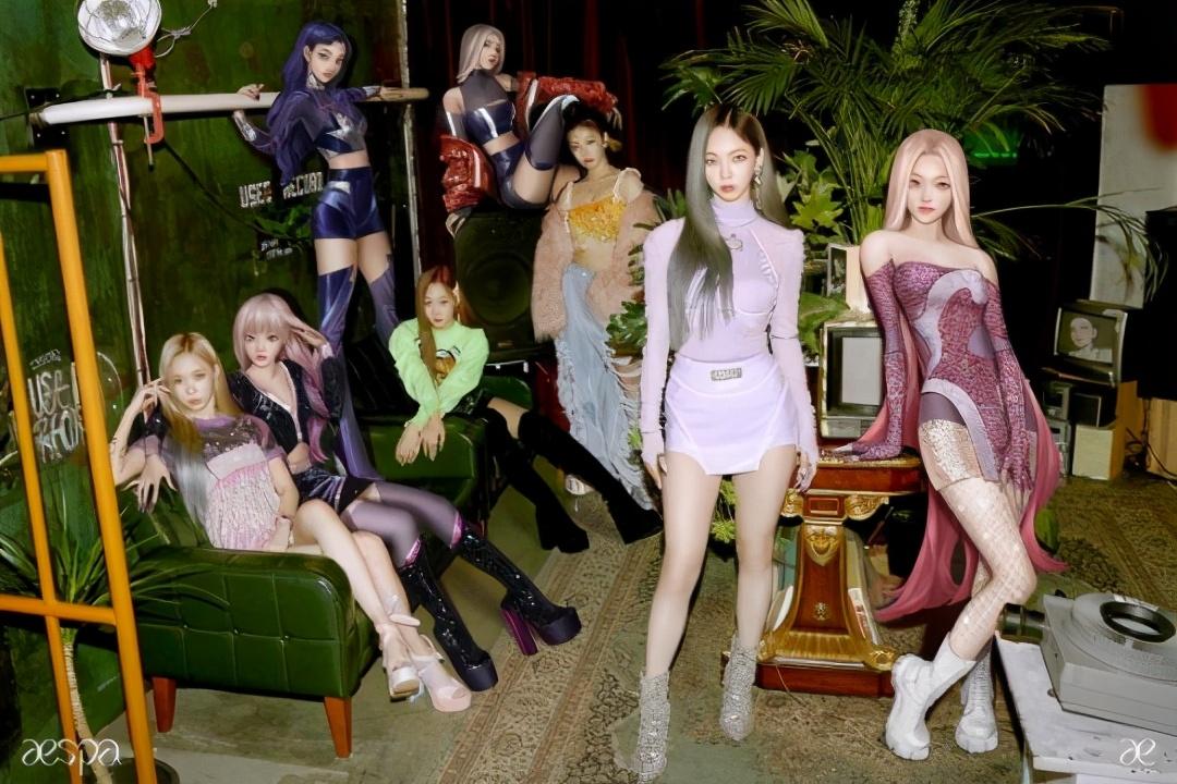 SM新女团初舞台将公开,实际跟幻想空间结合,与AI形象共舞?