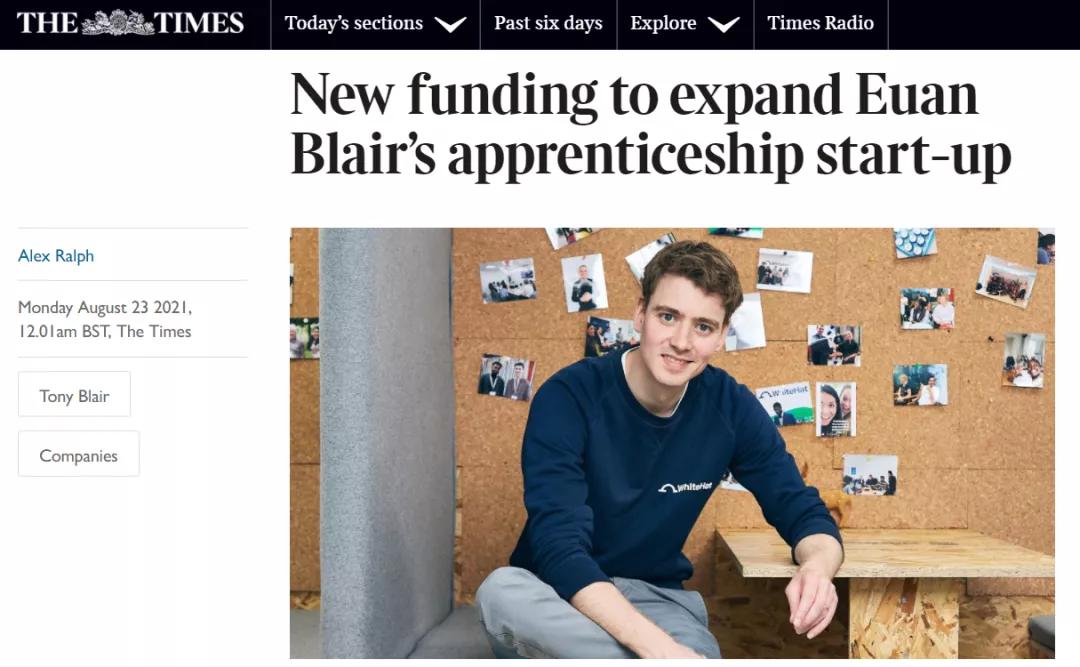 英国前首相沉迷挣钱不能自已,还好他儿子为英国学生们做了件好事