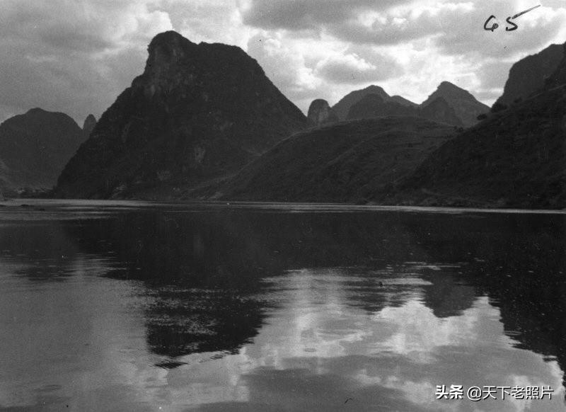 1930年广西漓江风光照 90年前的大美漓江神采重现