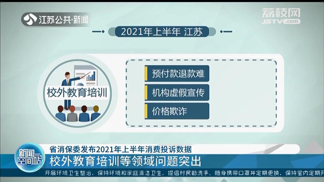江苏发布2021年上半年消费投诉数据 新能源车成为汽车消费投诉热点