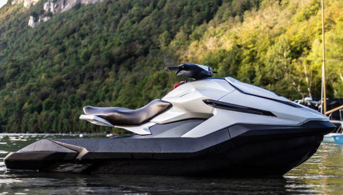 加拿大摩托艇制造商Taiga Motors推出了一种新型的全电动摩托艇