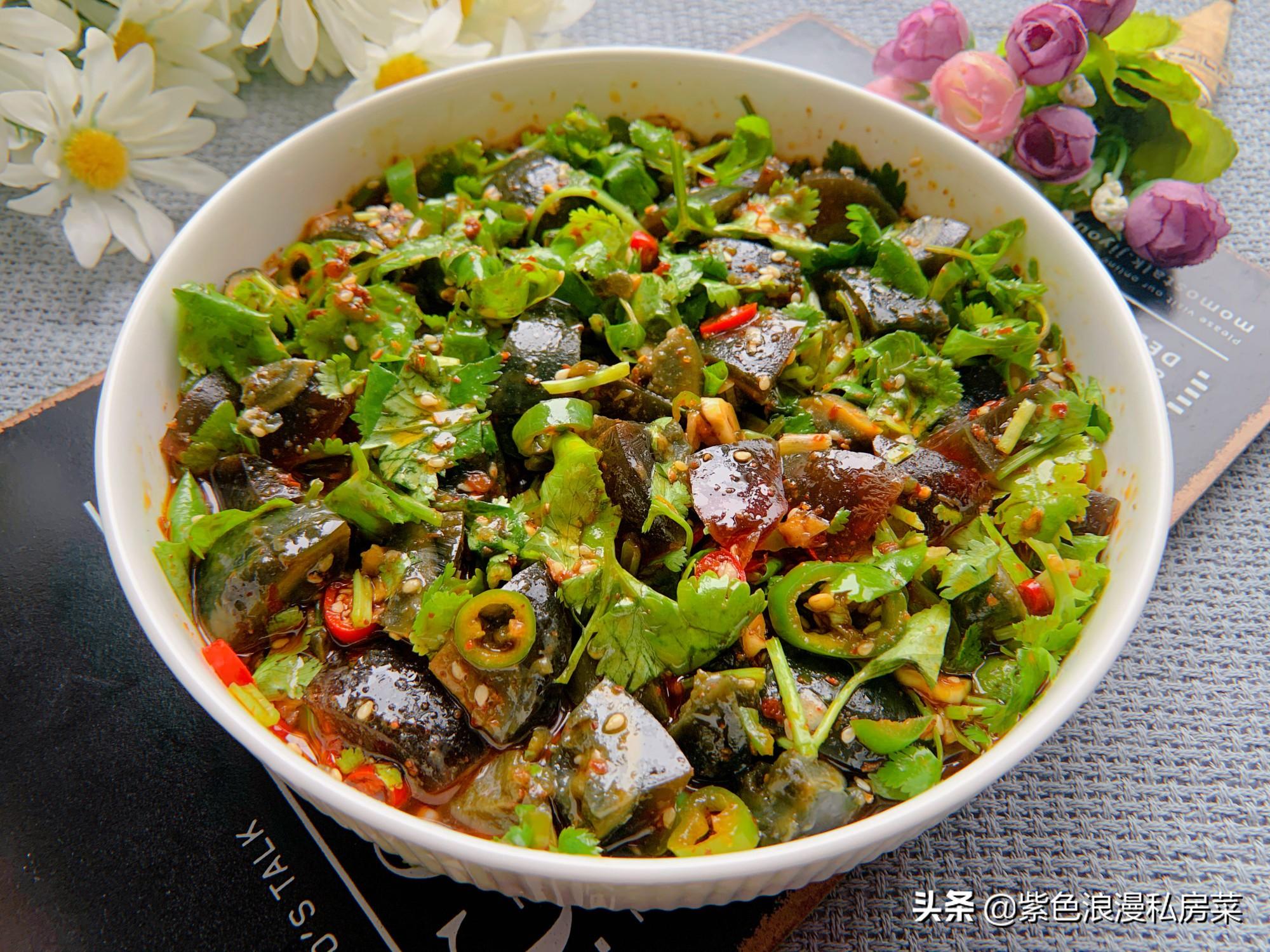 胃口不好的时候,最爱这道菜,简单拌一拌,酸辣开胃,越吃越香 美食做法 第8张