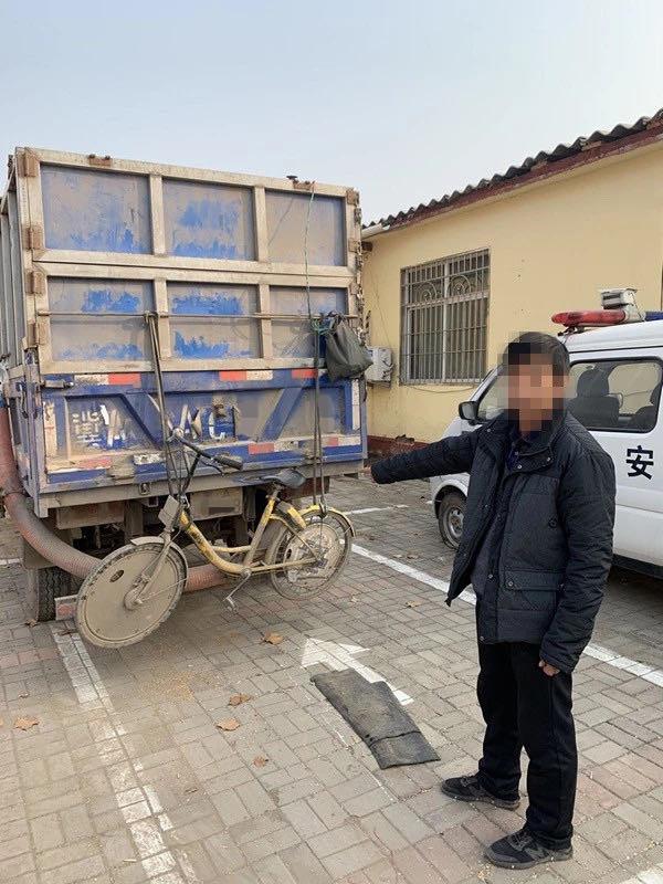 元氏:车内藏沙偷梁换柱盗窃小麦7000斤