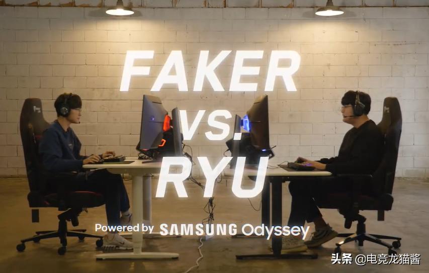 第2次双劫大战,Faker的细节举动,他真把Ryu当成了朋友