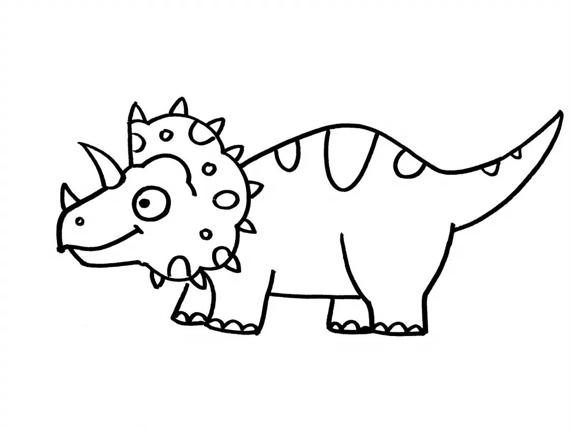 幼儿恐龙简笔画视频教程