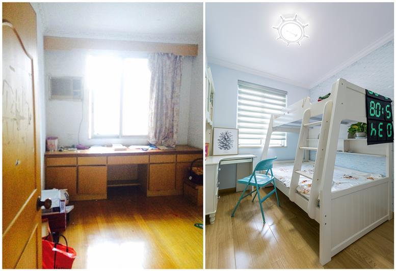 65㎡旧房翻新,老房改造案例