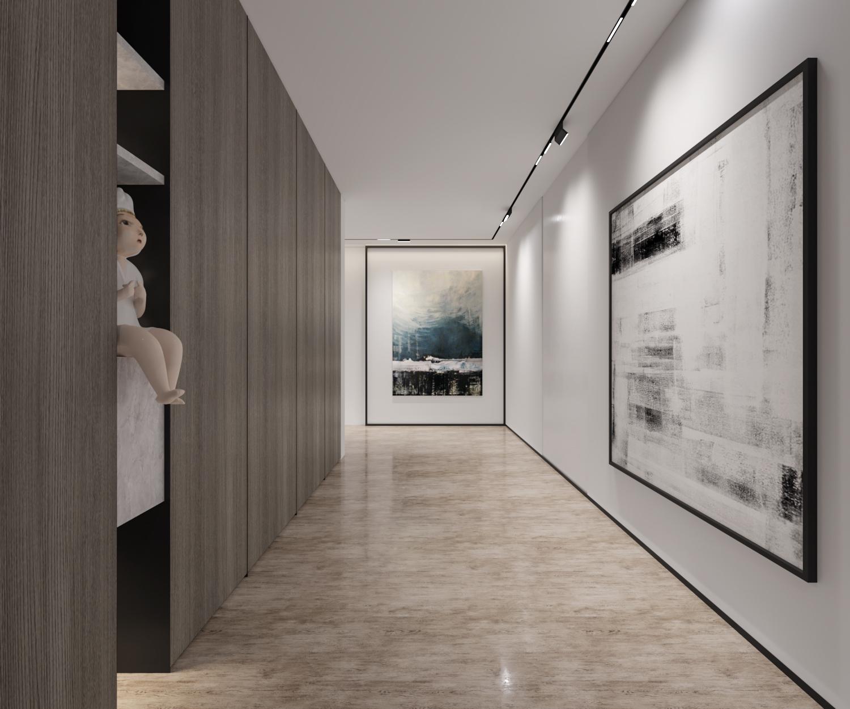 在家中塞进一个艺术画廊 这个别墅一进门就让你惊艳不已
