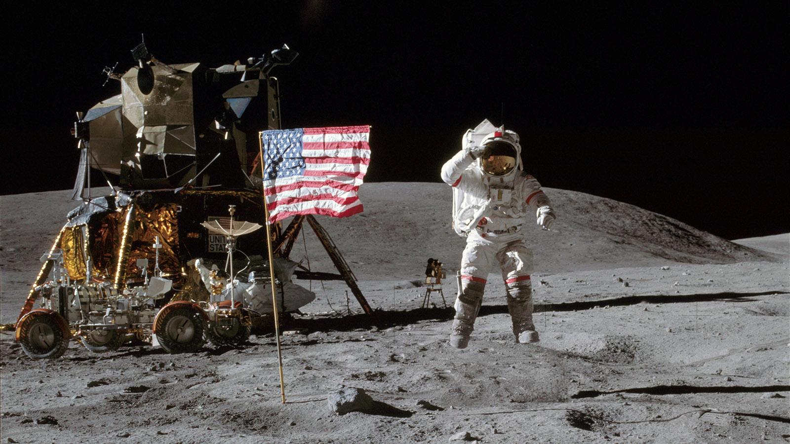 NASA登月是真是假?中國已經兩次給出了證明,結論一致