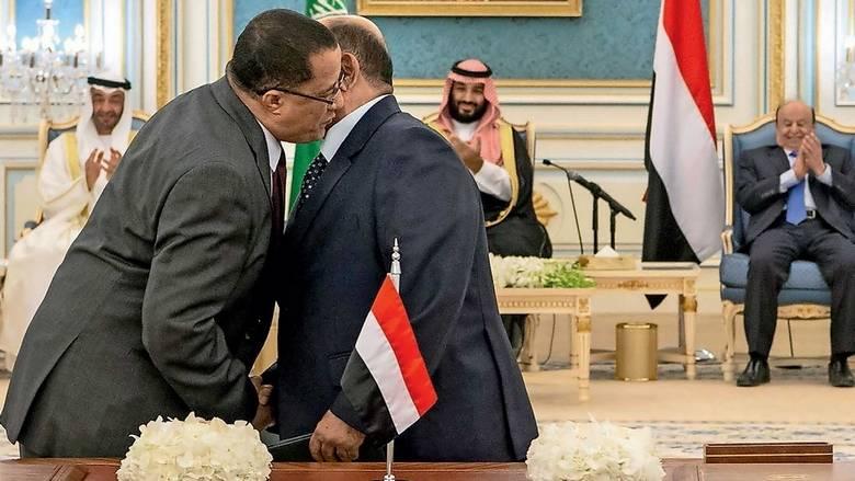 沙特为首的多国联军宣布将监督也门南部军事和安全部署 以尽快完成政府组阁