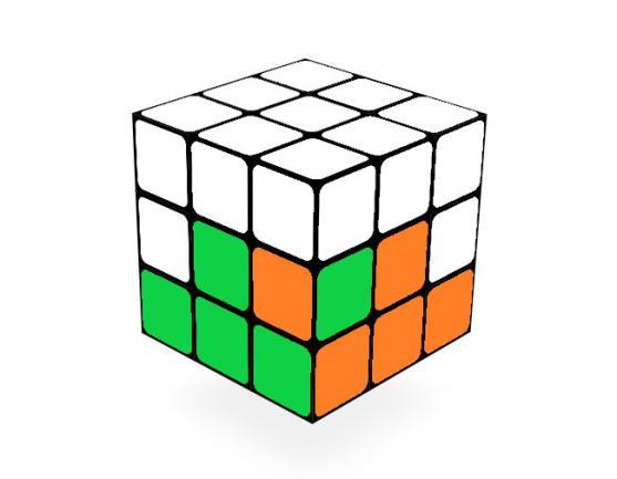 三阶魔方还原公式(高清彩色图解)