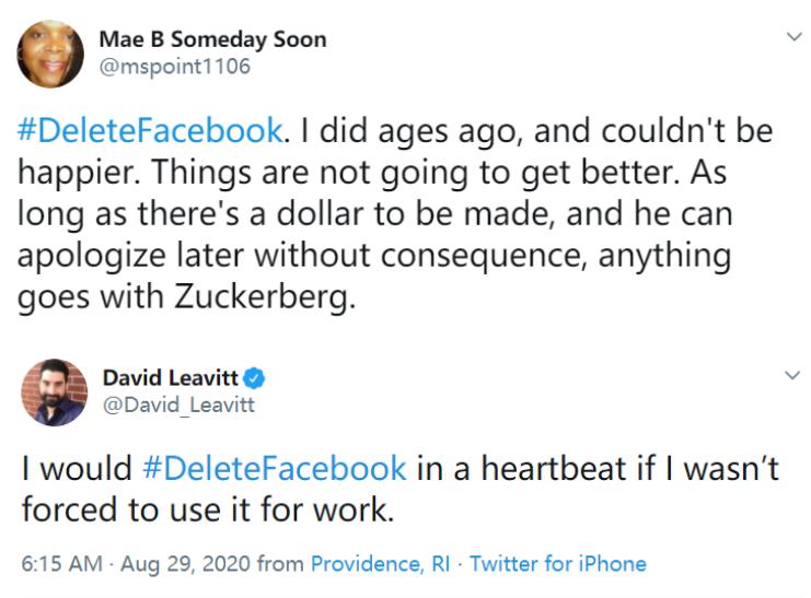 """扎克伯格认错了,员工对他很恼火""""删除Facebook""""登上美国热搜"""
