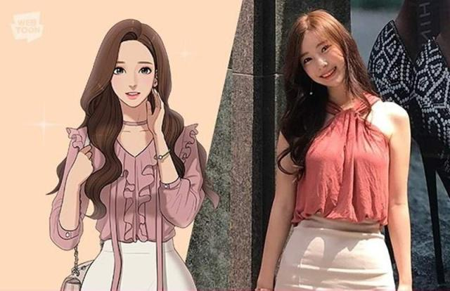 韓劇《女神降臨》原著作者受關注,外貌身材出眾,神似漫畫女主角