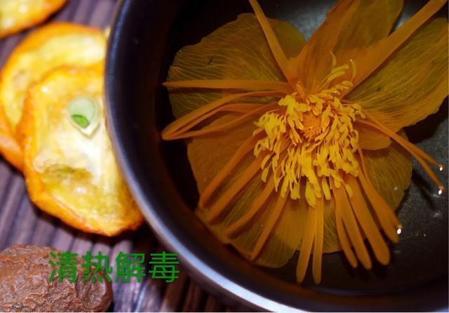 用于咽喉肿痛——金莲金桔茶 食补药膳 第2张