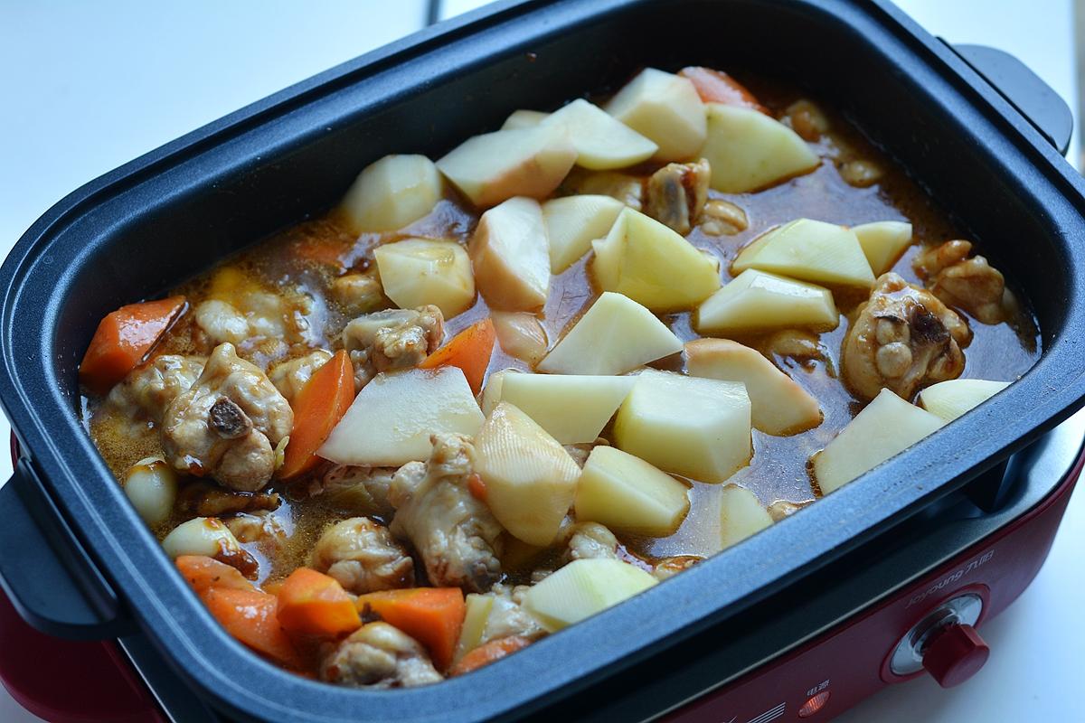 晚餐亲手做的黄焖鸡 美食做法 第10张