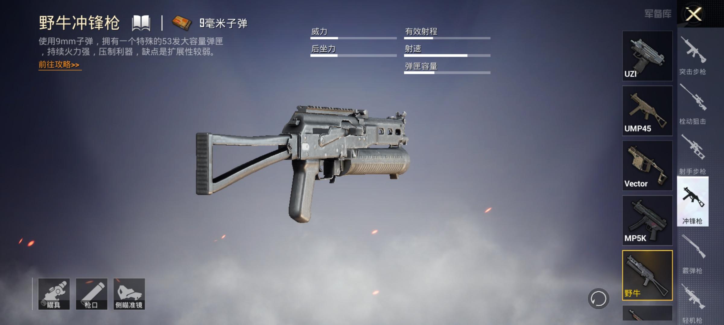 和平精英:冲锋枪实力分析,老玩家教你,他们才是冲锋之王
