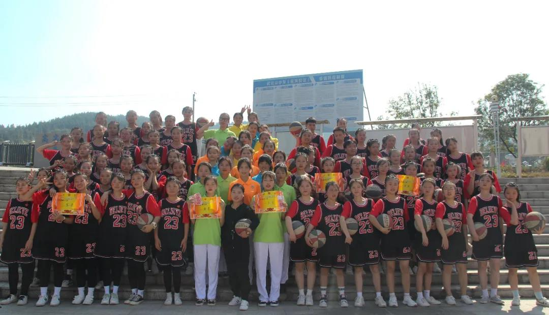 特色专业|武功山中等专业学校花式篮球特色课程成果汇报演出