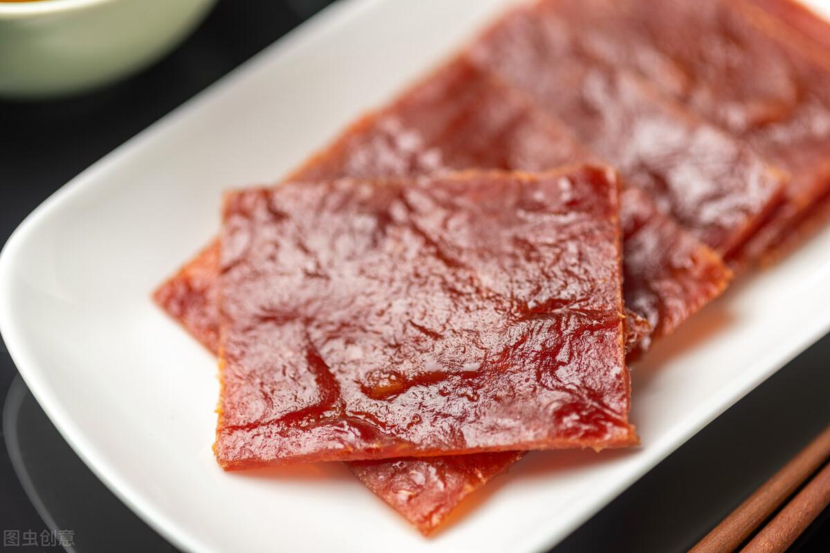 自制猪肉脯太简单,成本也很低,好吃不腻营养高,夏天多给孩子吃 美食做法 第8张