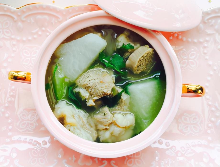 萝卜羊肉汤的做法步骤图 汤鲜味美身上暖