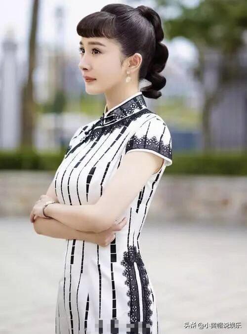 盘点11位穿旗袍的女明星,网友:迪丽热巴绝美