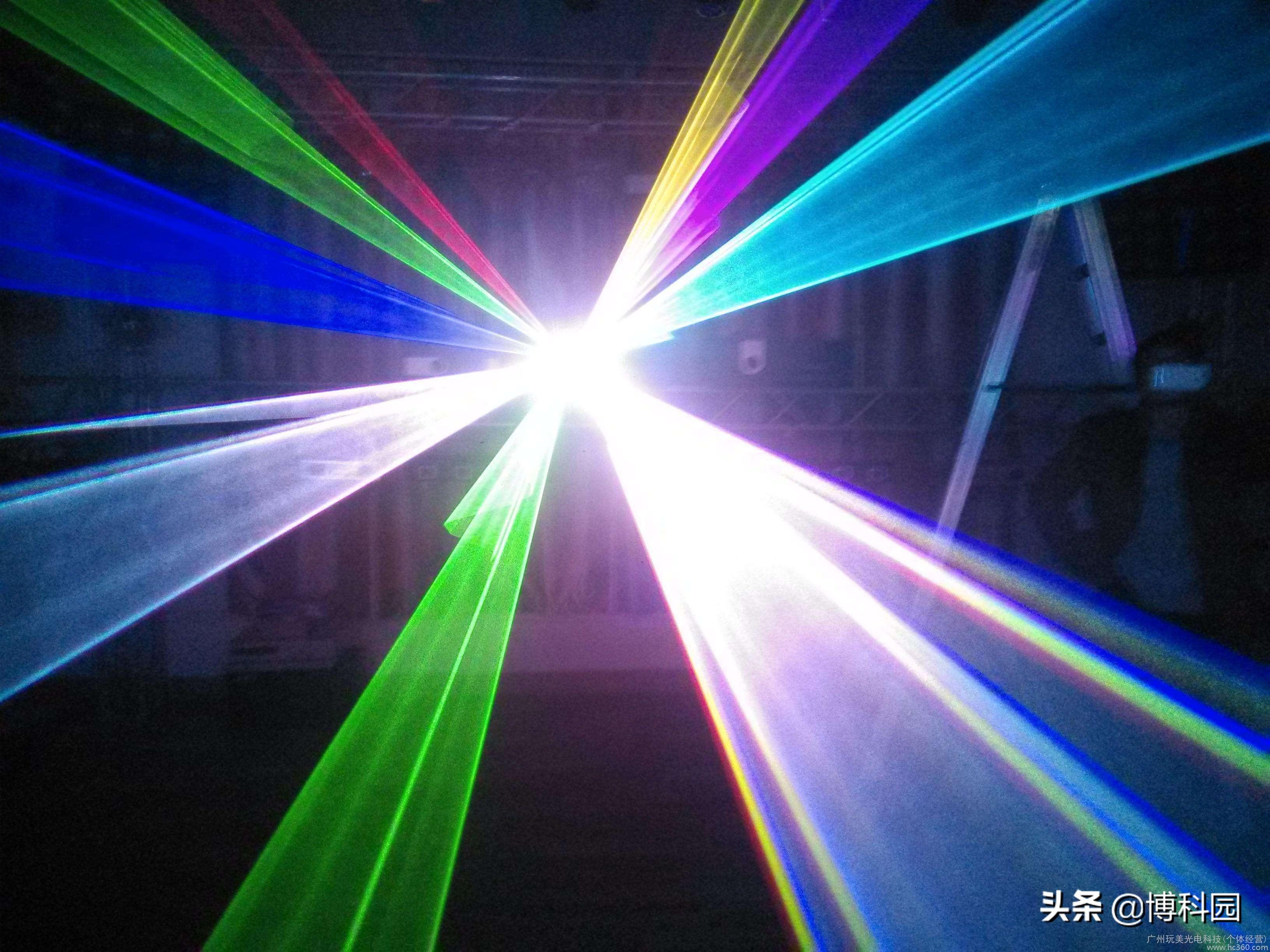 好美丽!激光加热也能产生明亮的颜色,而且大有用处!