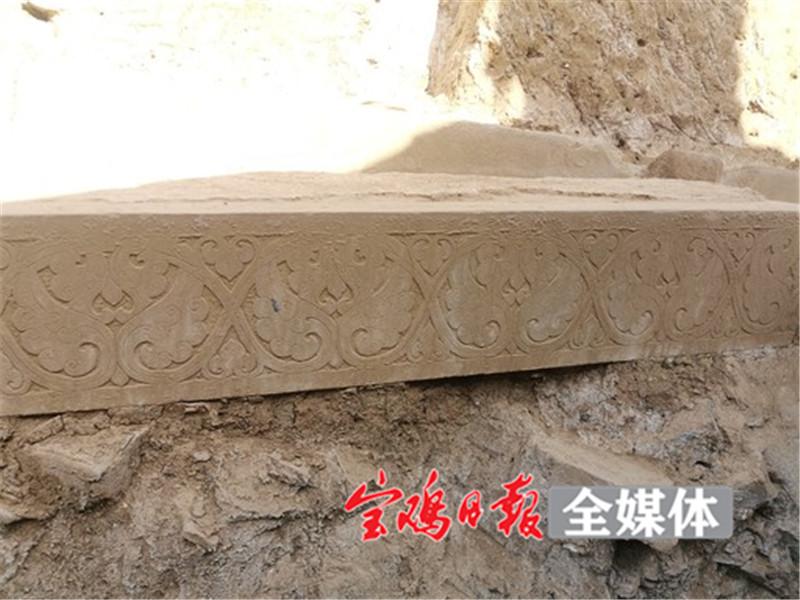 九成宫4号殿遗址出土各类遗物标本500余件