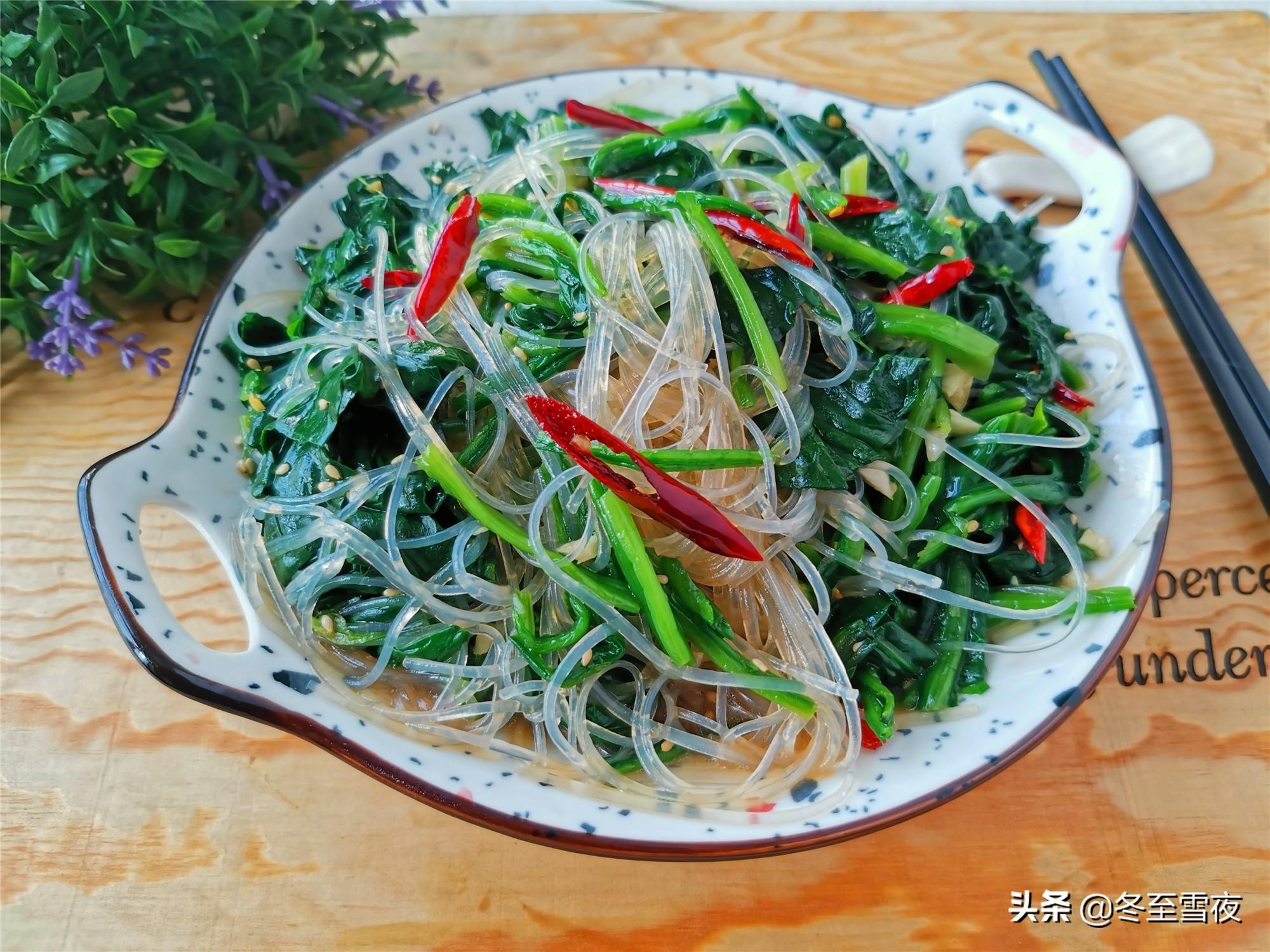 春菠菜做法,鲜嫩味美,祛春燥 美食做法 第1张