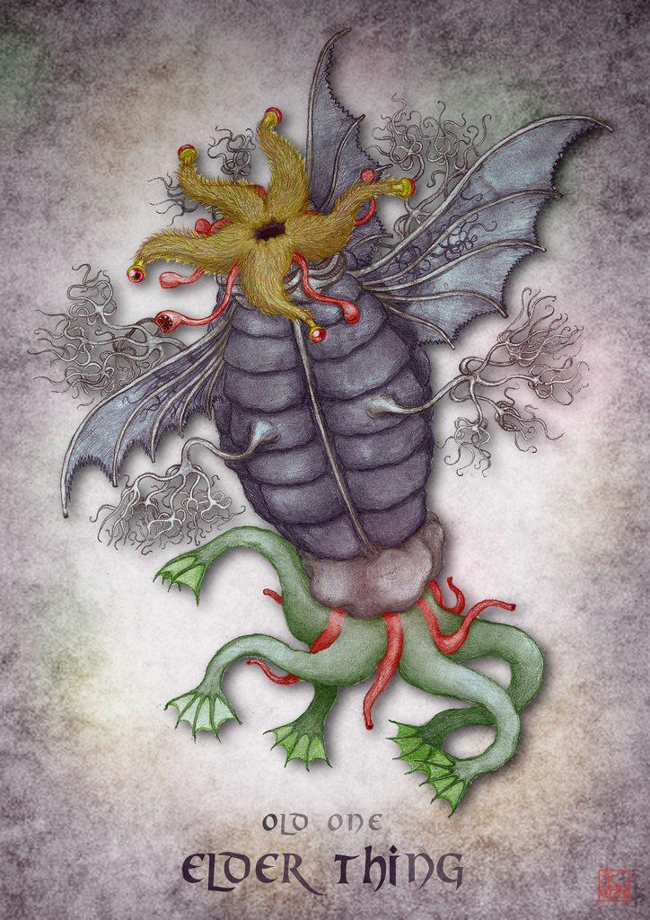 克苏鲁神话生物——古老者