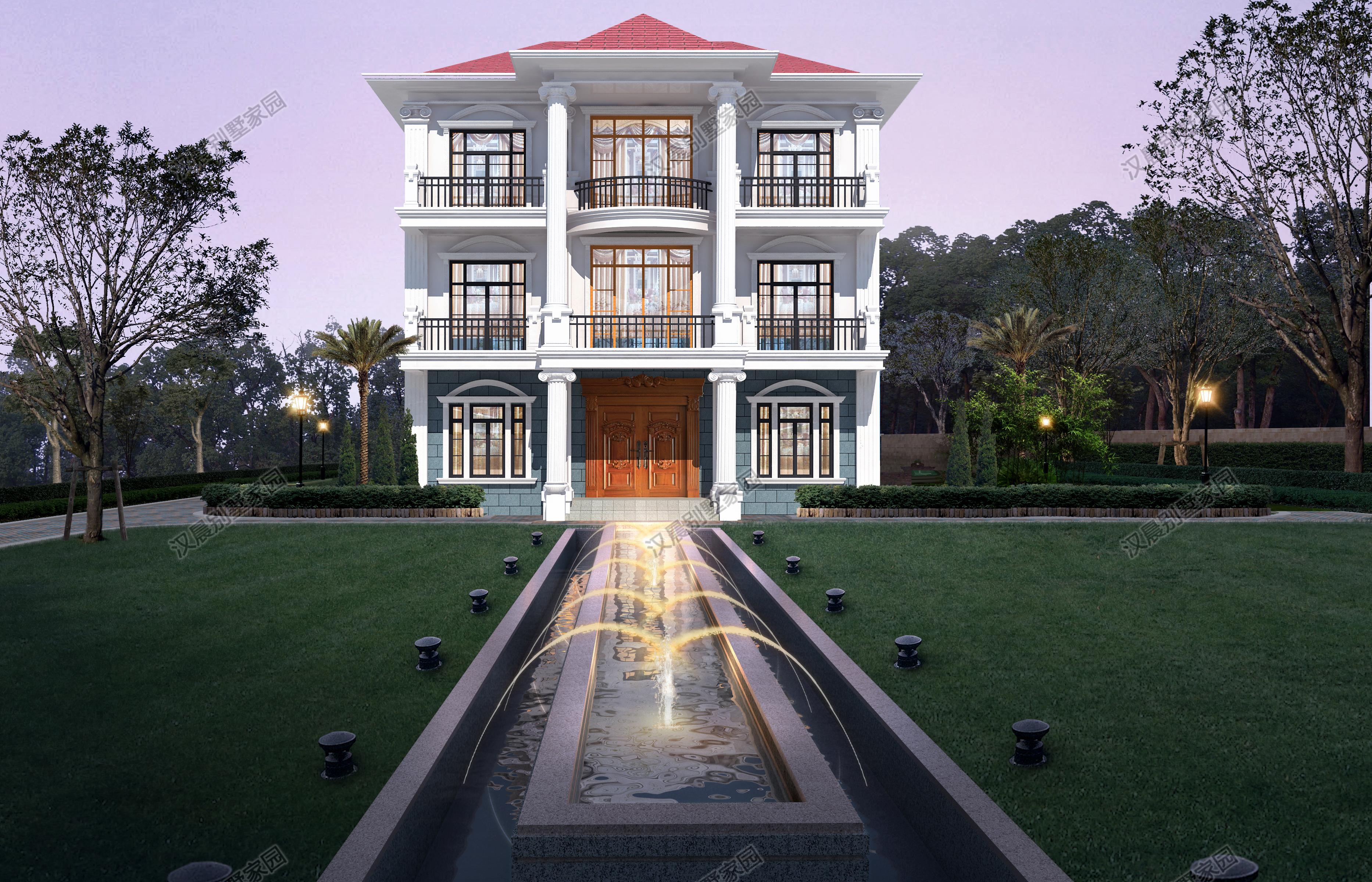 一层一户的大平层别墅,三室两厅一厨两卫,既能省钱也能赚钱