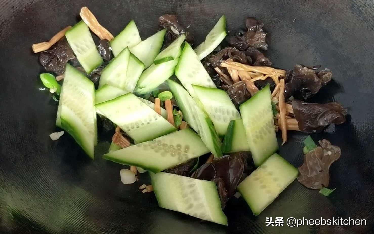 山东传统菜木须肉,营养丰富,很适合老人和孩子,家常做法 美食做法 第10张