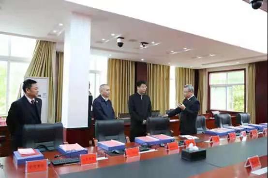 湖北省监利市委书记韩旭调研市检察院队伍教育整顿工作