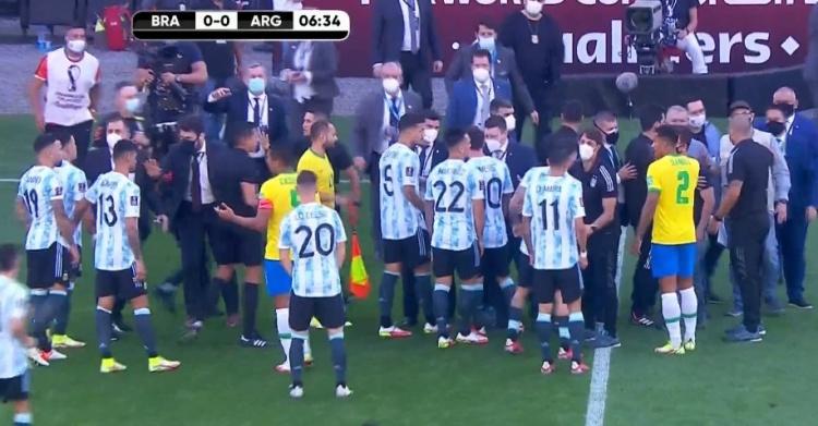 阿足协回应巴阿大战被腰斩,巴西:你们违规在先