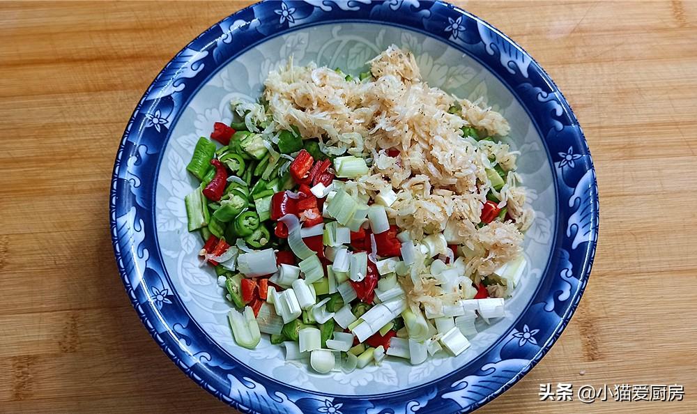 【虾米拌尖椒】做法步骤图 做法简单 成菜香辣好吃下饭过瘾