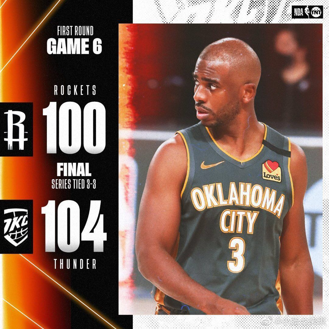 NBA季后赛:红队和雷霆进入抢七,为什么詹姆斯乐了?