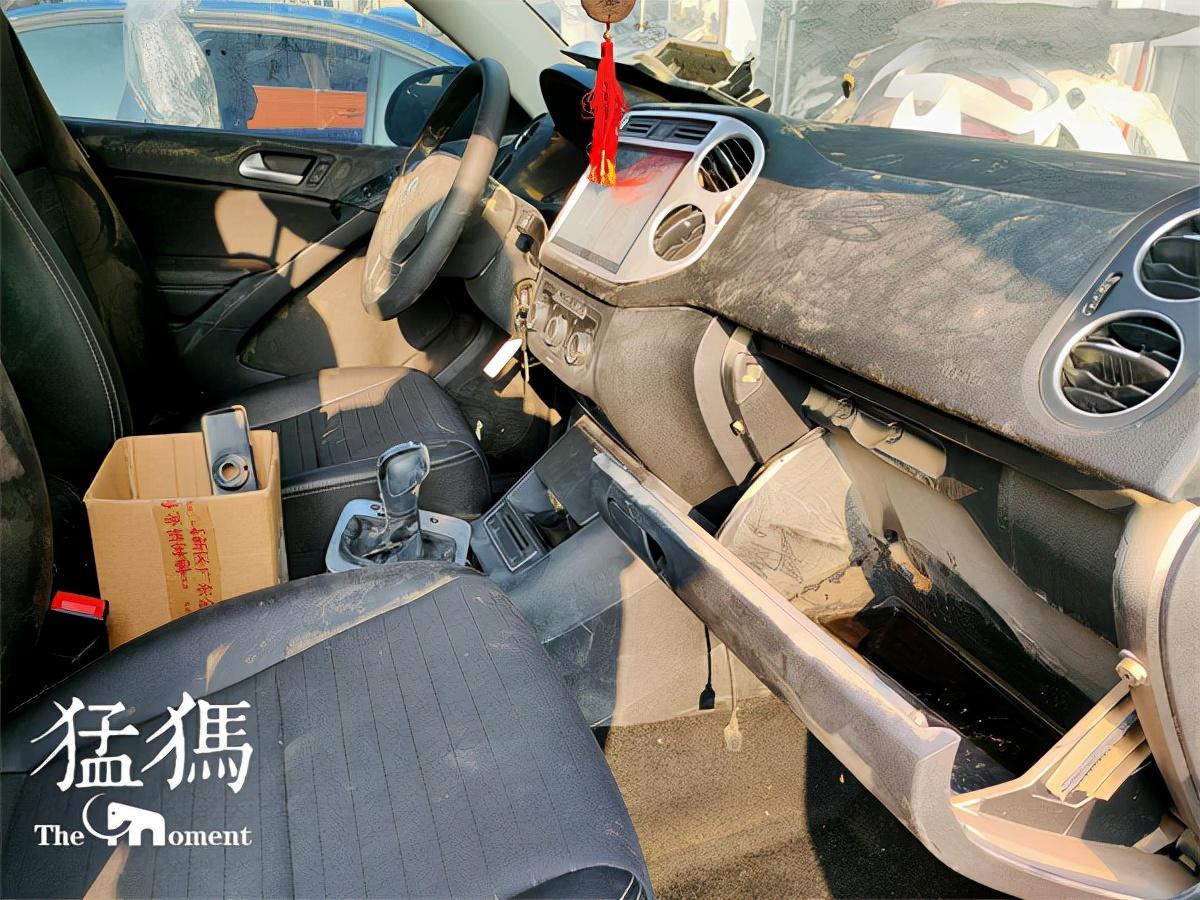 """郑州的水淹车去哪了:价值4万多的水淹车,卖给外地修理厂变成十万""""精品车"""""""