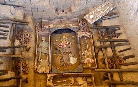 西安发现疑似周代王陵,陵内曾遭火灾,专家研究残骸发现是秦王陵