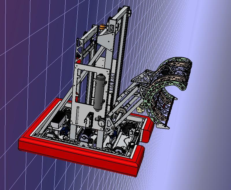 A-Full Robot机器人车3D图纸 STEP格式