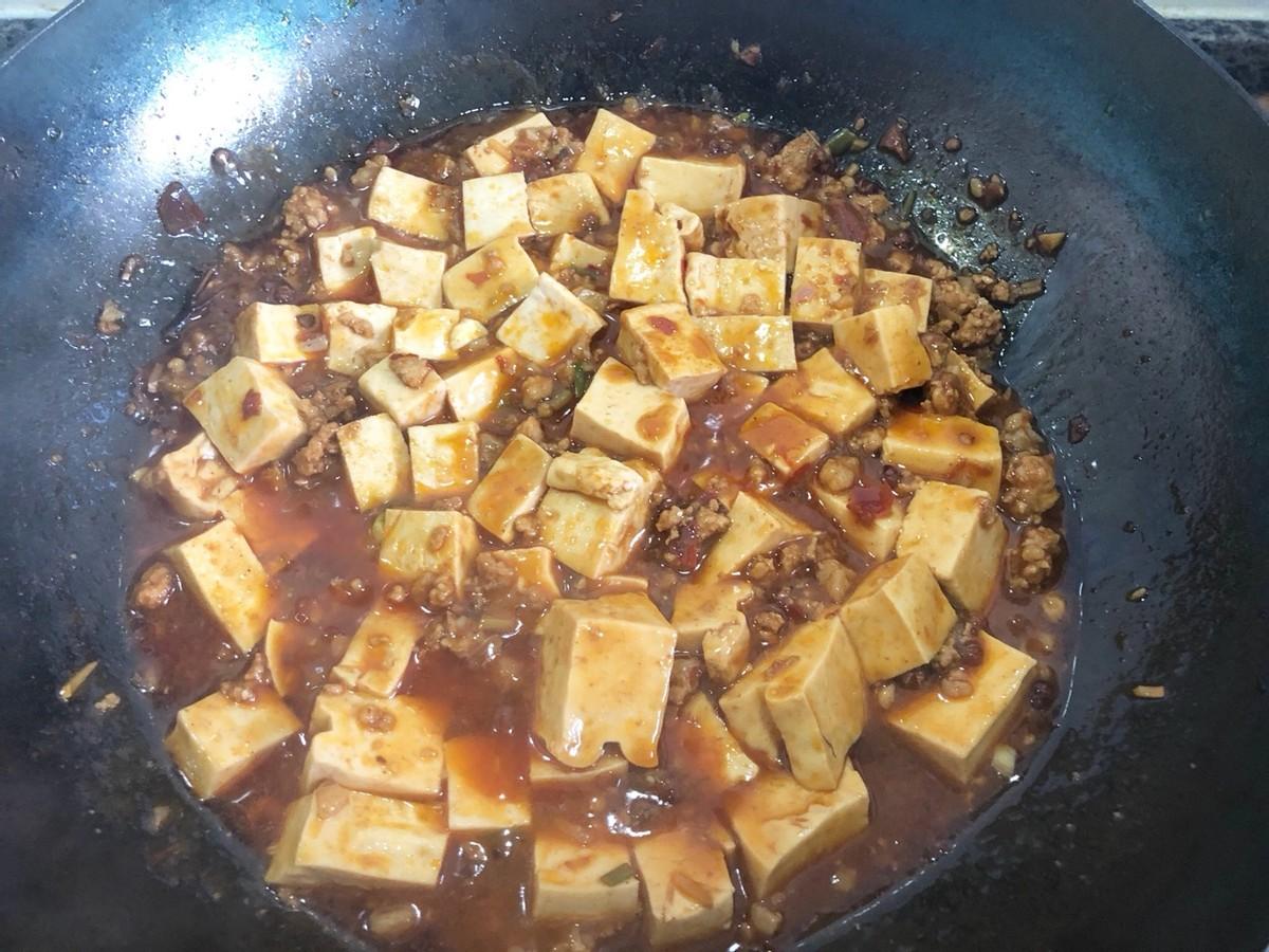 家常麻婆豆腐的做法,简单好上手,新手也能操作,香辣下饭 美食做法 第12张